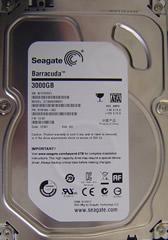 Seagate ST3000DM001 mit einem Headcrash