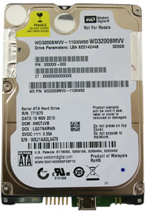 WD3200BMVV
