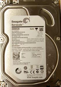 Seagate Barracuda ST3000DM001
